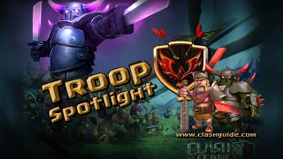 Clash of Clans Attacks - The P.E.K.K.A. Hits the Spotlight - and Breaks It!
