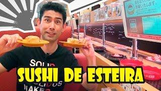 Comendo no Japão - Sushi no Sushiro - Japão Nosso De Cada Dia