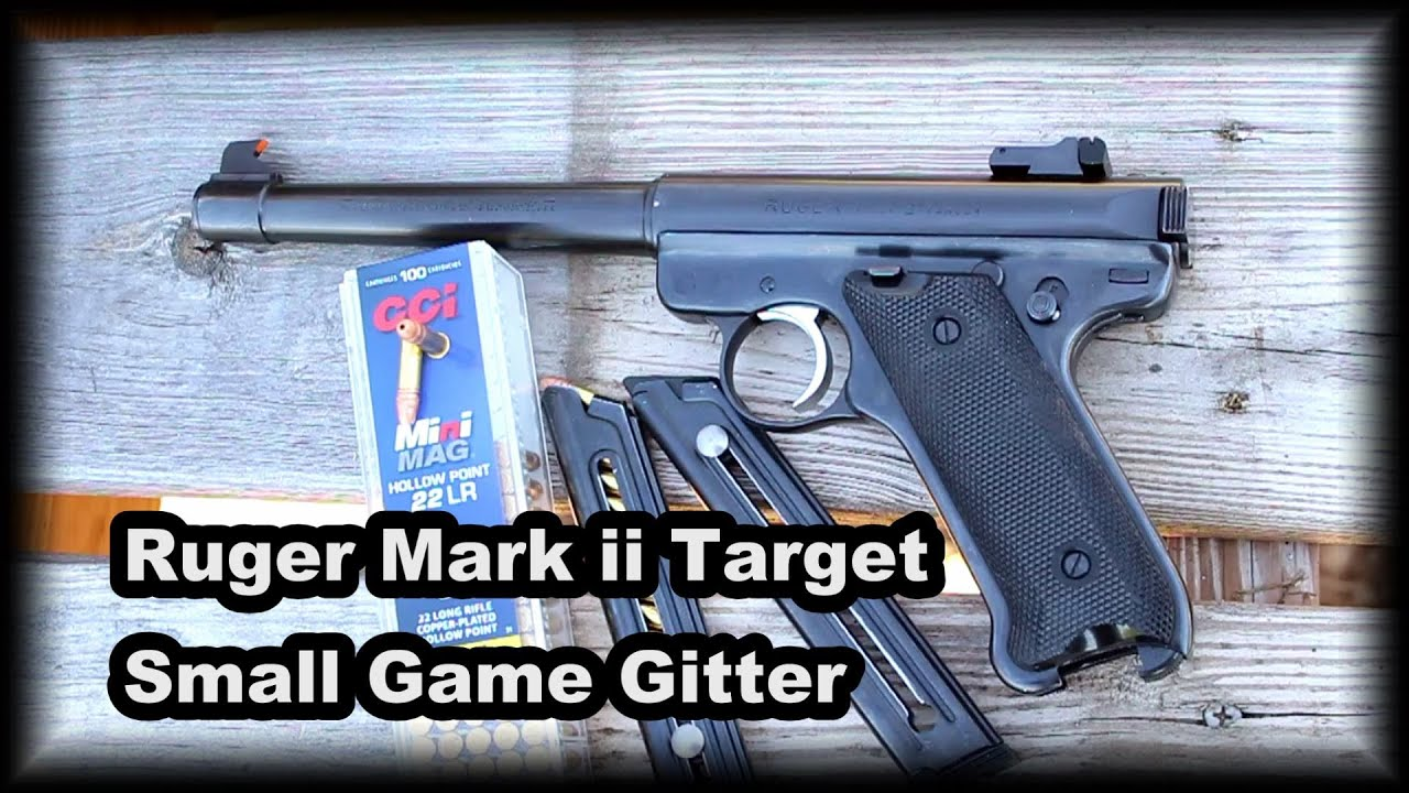 Ruger Mark ii Target Small Game Gitter