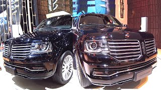 Large luxury SUV Lincoln Navigator 2016, 2017 model, American made luxury SUV Lincoln Navigator