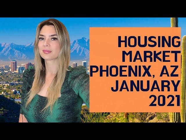 Phoenix Housing Market for January 2021