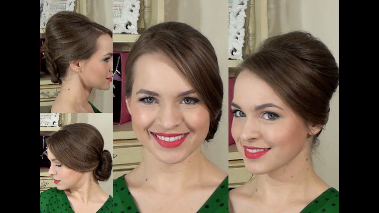 60's inspired hair for adele, madmen, or any retro look - youtube