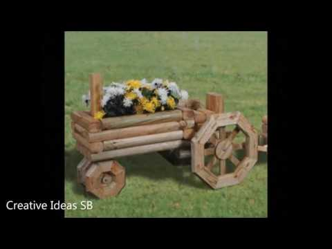 100 Wood Swing and Wood Garden Decoration Ideas 2017 - Pallet Log Creative Ideas -new decor