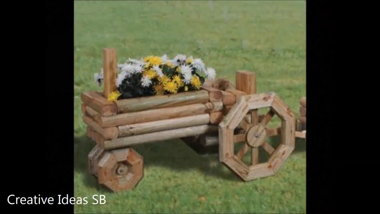 100 Wood Swing and Wood Garden Decoration Ideas 2017 - Pallet Log ...