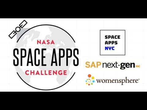 SPACE APPS NYC BOOTCAMP 2 - MON OCT 15 2018 6:30PM