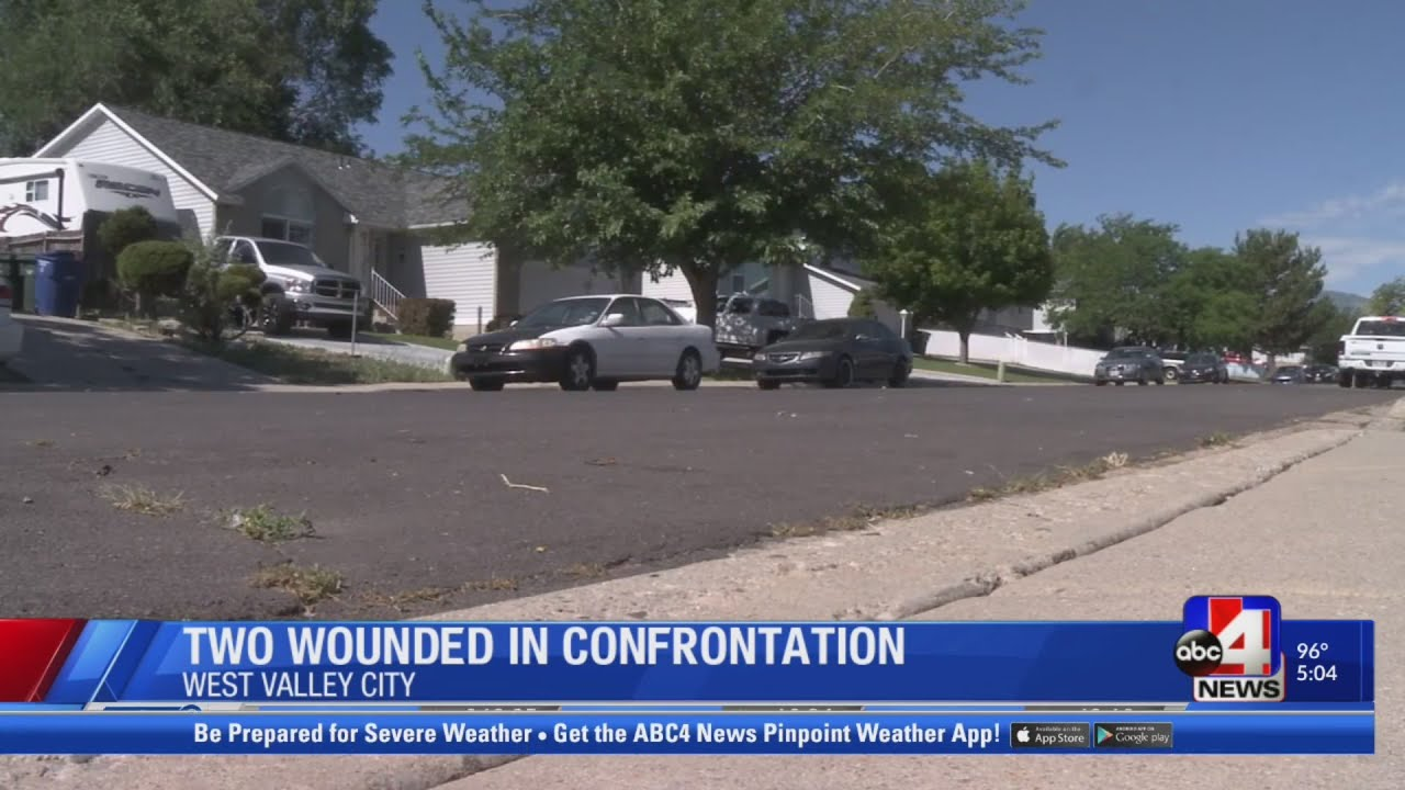 Two people shot outside West Valley City home