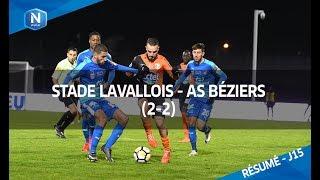 J15 : Stade Lavallois MFC - AS Béziers (2-2), le résumé