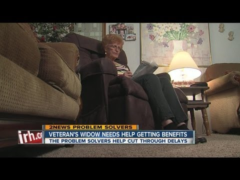 Grieving widow looks for answers from VA