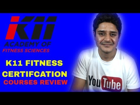 k11 Fitness certification Reps level 3|Fitness academy courses review in Hindi