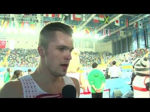 Istanbul 2012 Mixed Zone: Jakub Holuša CZE