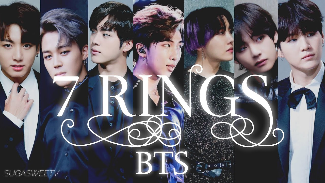 Download BTS X ARIANA - 7 RINGS FMV