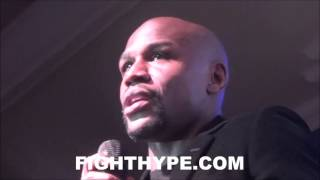 FLOYD MAYWEATHER REVEALS HIS SWEETEST VICTORY; ANSWERS OTHER QUESTIONS FROM FANS