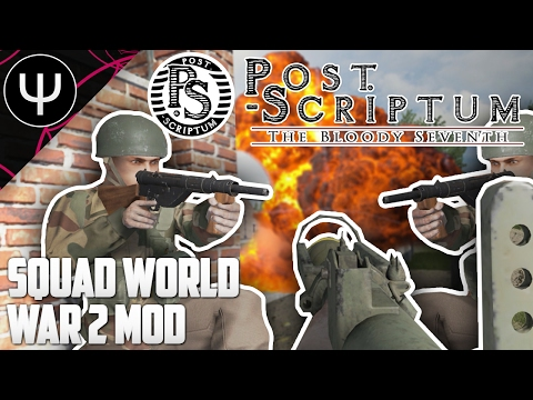 Post Scriptum — First Look — Squad World War 2 Tactical Expansion!