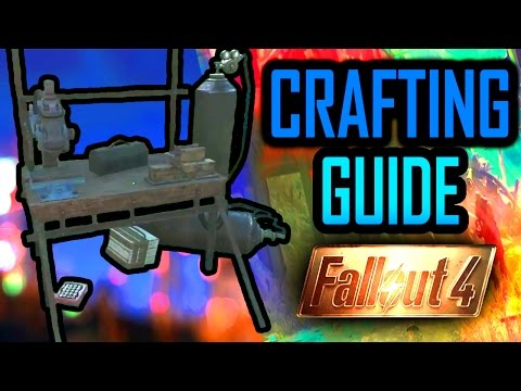 Fallout 4 Crafting Guide - How To Craft Anything Tutorial