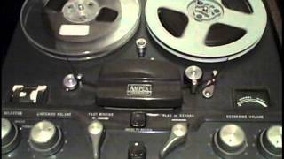 Bounce song to tape- Reel to Reel Tape Analog master: Ampex tape tutorial 5