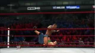 WWE '13 - John Cena vs Randy Orton - I Quit Match
