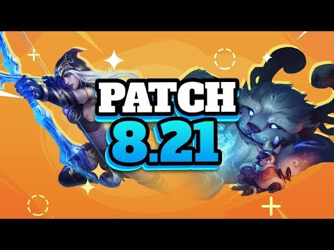 Best Champions TIER LIST - Patch 8.21