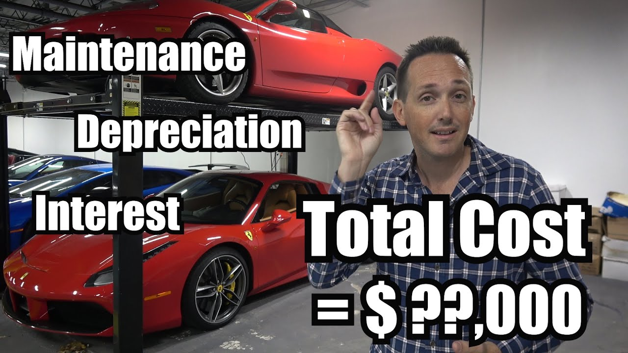 What It Cost Me To Rent A Ferrari 458 For A Year Youtube
