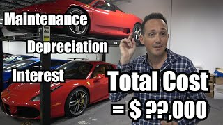 What it Cost me to Rent a Ferrari 458 for a Year