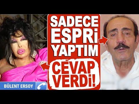 Mustafa Keser'in 'Annesine küfür etmedim, espri yaptım' sözlerine Bülent Ersoy'd