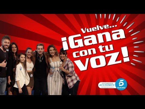 Gana con tu Voz 2018 - Sevilla Factory