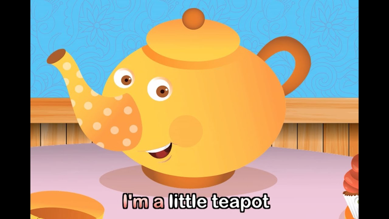 im a little teapot cartoon - photo #20