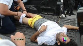 Lluvia de balas en Michoacán por enfrentamiento de autodefensas y autoridades