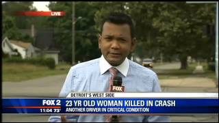 23-year-old woman dies in crash, accident scene remains open for hours