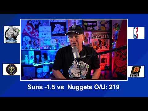 Phoenix Suns vs Denver Nuggets 1/22/21 Free NBA Pick and Prediction NBA Betting Tips
