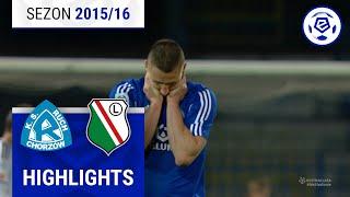 Ruch Chorzów - Legia Warszawa 0:0 [skrót] sezon 2015/16 kolejka 32