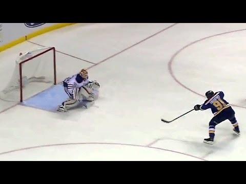 Tarasenko fires breakaway goal past Talbot