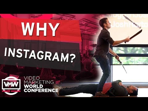 Instagram Tips by Josh Horton (Full Presentation) Video Marketing World Conference