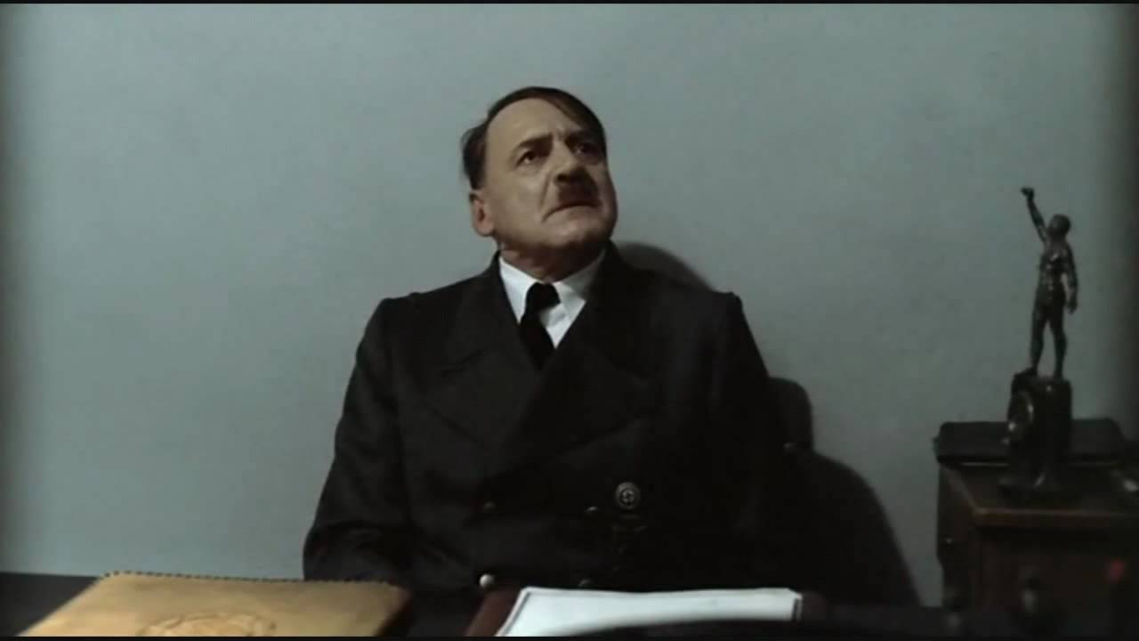 Hitler is informed Germany will beat Spain in the World Cup