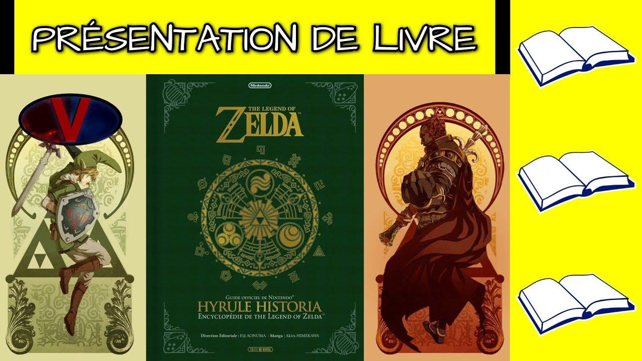 Presentation De Livre 6 Hyrule Historia