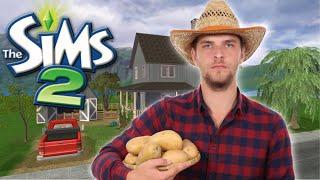ONE FARMER TO RULE THEM ALL + A NEW FARMHOUSE | SIMS 2 EDGEWOOD #6