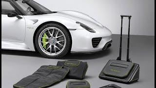 Porsche 918 Spyder Luggage Set