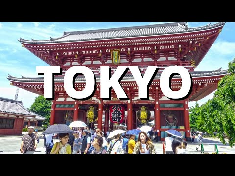 City break to Tokyo Japan 2017 Holiday Vacation Travel Tour Visit Video