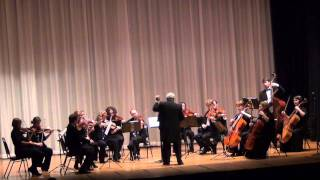 Mendelssohn: String quartet in A, 1st movement / Rachlevsky • Chamber Orchestra Kremlin