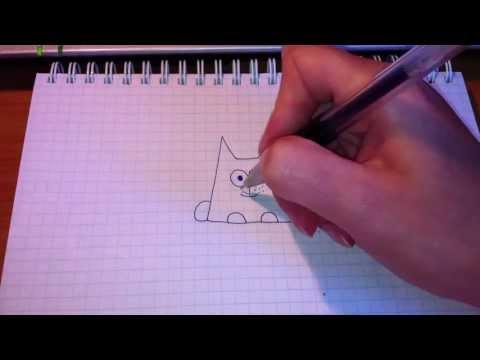 Как нарисовать хомяка Рисунок хомяка простым карандашом