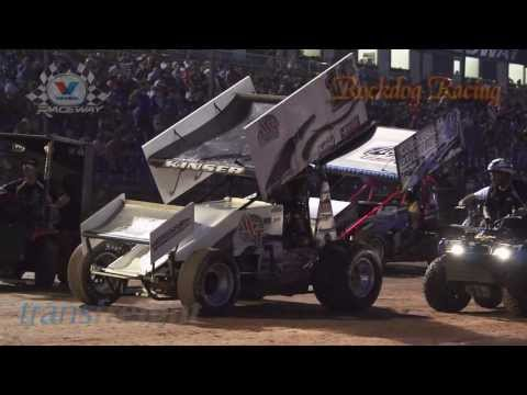 2014 NSW Sprintcar Title TOP 8 DASH  - Valvoline Raceway - Rockdog Racing Videos