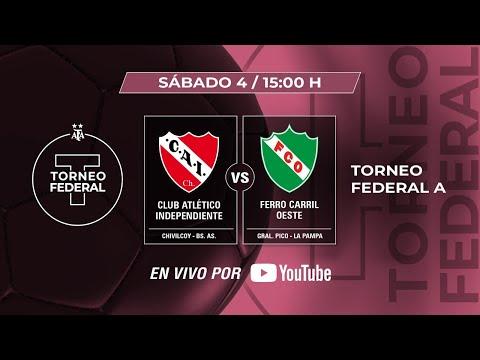 TORNEO FEDERAL A   INDEPENDIENTE DE CHIVILCOY - FERRO C.O.    TVPP