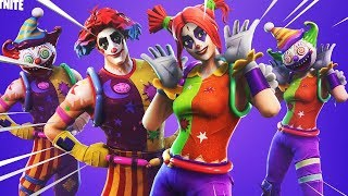 New Nite Nite and Peekaboo Skins Out Now! (Clown Skins) Fortnite