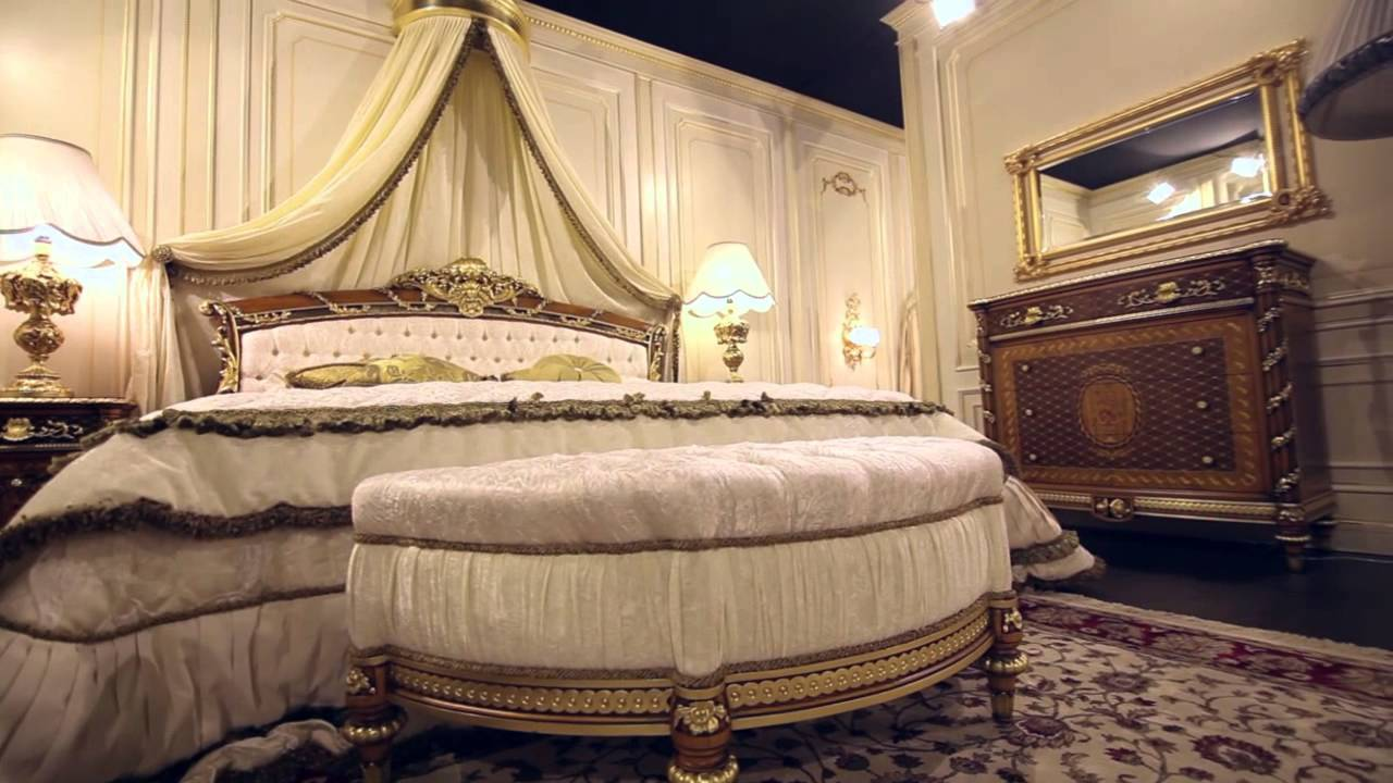 Louis xvi bedroom furniture - Classic Bedroom In Walnut Louis Xvi Noce E Intarsi The Luxury Meets The Night Area Youtube
