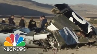 How Did Pilot Survive Virgin Galactic Crash? | NBC News