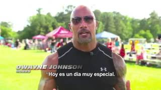 FAST & FURIOUS 8 - Un Haka con The Rock