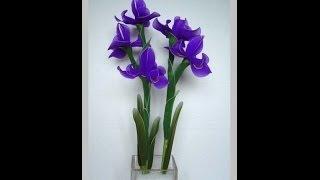 Мастер-класс цветы из капрона (flowers from kapron)(, 2014-04-22T07:52:41.000Z)