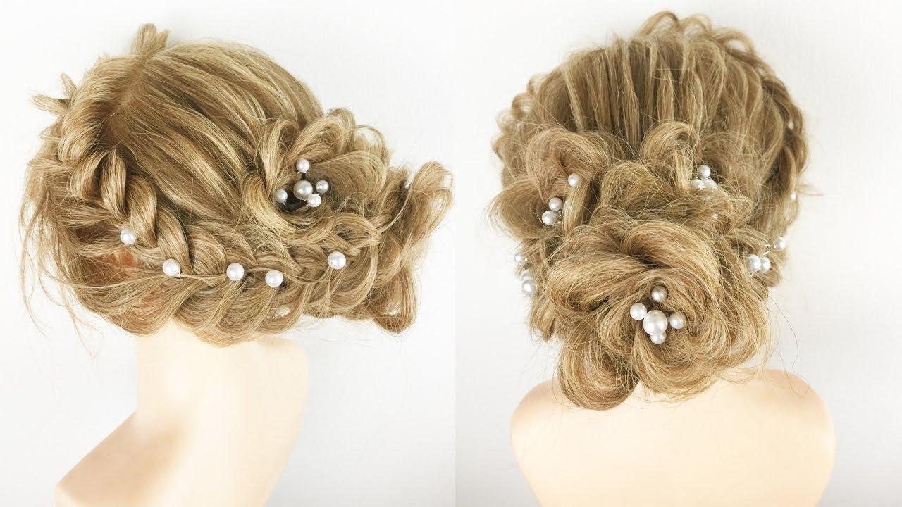 Tết Tóc Đơn Giản Dự Tiệc | Kiểu Tóc Cô Dâu Đẹp | Beautiful Hairstyle For Party Wedding 2019