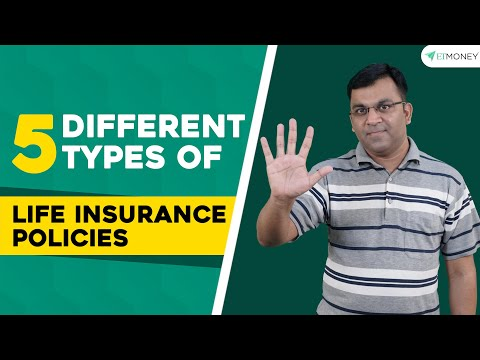Life Insurance Policies - Different Types | Features | Premiums | How to buy? | ETMONEY