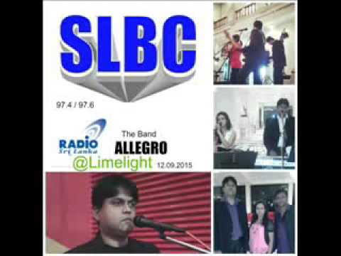 Allegro Band @ SLBC Limelight Radio show Sri Lanka
