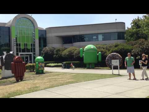 Google HQ Office at Mountain View California
